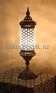 Восточная лампа  арт. ОС-3Н/1,турецкий стиль, ажруная чеканка