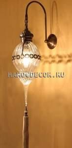 Восточный светильник настенный арт.W-189
