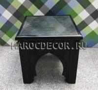 Марокканский резной столик арт.BR-36