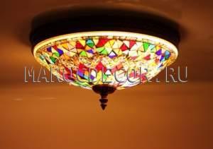 Светильник мозаичный потолочный арт.СМ-030/1