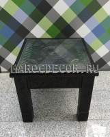 Марокканский резной столик арт.BR-134