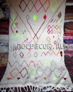 Марокканский ковер в стиле бохо арт.BR-50