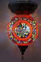 Большой мозаичный светильник 50см арт.HM-50A