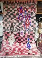 Марокканский шерстяной ковер с ворсом арт.ВR-54