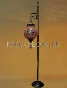 Лампа напольная с мозаичным плафоном арт.ML-30