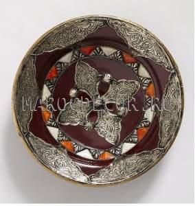 Марокканская тарелка арт.AS-14