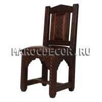 Марокканский резной cтул арт. Chair-14