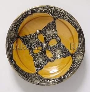 Марокканская тарелка арт.AS-15