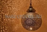 Марокканский подвесной светильник арт. BOULE-3