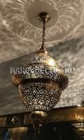 Латунный светильник Марокко арт.Lant-06
