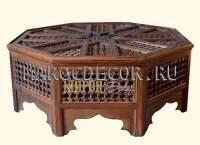 Марокканский резной стол арт.TB-53