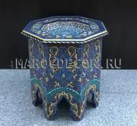 Стол журнальный с росписью арт.TВ-51