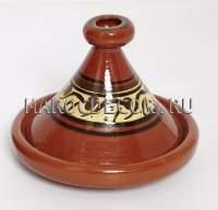 Марокканский тажин для готовки арт.TJ-11, глиняный