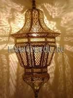 Подвесной марокканский светильник с чеканкой