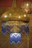 Марокканская люстра ручной работы арт.
