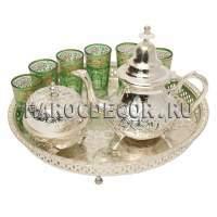 Марокканский набор для чая арт.  TEA SET-06 на 6 персон
