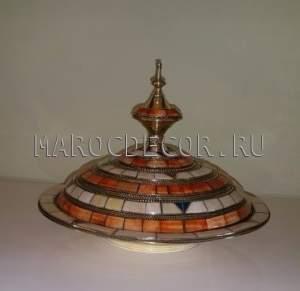 Тажин-конфетница в марокканском стиле арт.TR-14