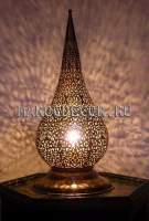 Марокканская настольная лампа, ручная работа
