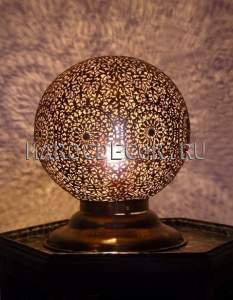 Марокканская настольная лампа арт.Lamp-45, ручная работа