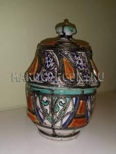 Марокканская ваза арт.VR-20