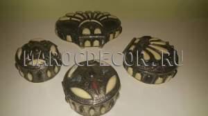 Марокканская  шкатулка арт.BG-01