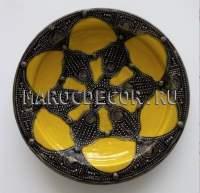 Марокканская тарелка арт; AS-32