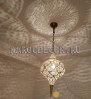 Марокканский светильник из латуни арт.Marrakesh-22