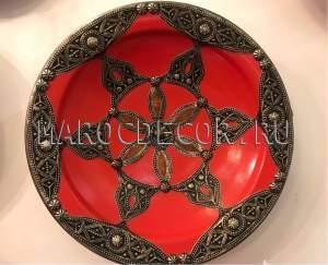 Марокканская тарелка арт.AS-035