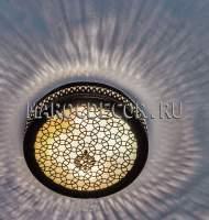 Восточный потолочный светильник арт. WO-0800/27, все для хамама
