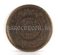 Поднос круглый, латунь арт. PL-02