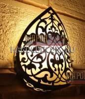 Освещение в турецкую баню (хамам) арт.W-128M