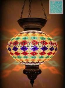 Светильник мозаичный подвесной арт.HM-060
