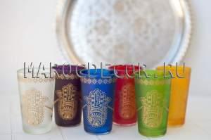 Марокканские стаканчики для чая арт.Verre-13