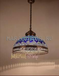 Мозаичный турецкий светильник арт.HM-30-DB NEW