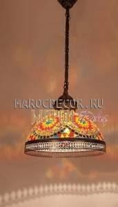 Cветильник мозаичный турецкий арт.HM-30-DCO