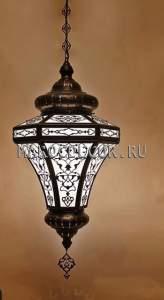 Восточный подвесной светильник арт. НO-602К, ажурный фонарь светильник в восточном стиле.