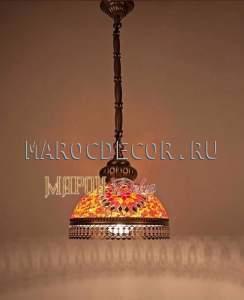 Светильник мозаичный турецкий арт.HM-17-DO