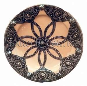Марокканская тарелка арт.AS-38