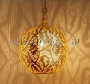 Восточный ажурный светильник арт.LZ-04