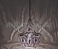 Восточный ажурный светильник