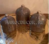 Марокканская керамическая шкатулка арт.TDL-5