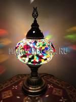 Настольная мозаичная лампа арт.ТМ-017A-3