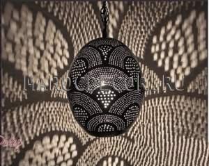 Восточный подвесной светильник арт.HEB-30, из Марокко