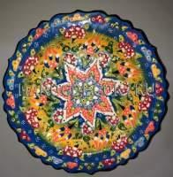 Турецкая тарелка арт.TUR-02