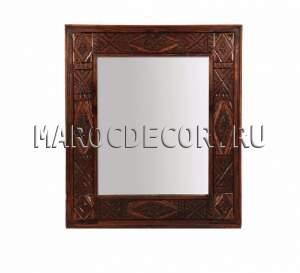 Резное марокканское зеркало арт.SR-81